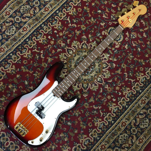 Fender USA Precision Bass 50th Anniversary Flame Top 181 of 500 (Pre-Owned)